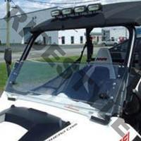 Ветровое стекло из термопластика откидное квадроцикла Can-Am Commander Quadrax 19-972058