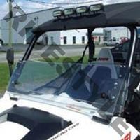 Ветровое стекло из термопластика откидное квадроцикла Polaris Ranger Rzr Quadrax 19-972008