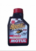 Моторное масло для 4-х тактных снегоходов Motul Snowpower 4T 0W40 1 л