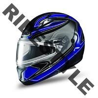 Снегоходный шлем с подогревом HJC CL-MAX II Blue