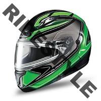 Снегоходный шлем с подогревом HJC CL-MAX II Green