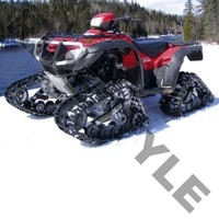 Гусеницы для квадроцикла Arctic Cat 400/500/550 TRV Automatic/Plus/H1 EFI/LE Camoplast Tatou ATV 4S 6622-01-0321