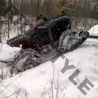 Гусеницы для квадроцикла Yamaha 700 Grizzly FI Auto 4X4/EPS Camoplast Tatou ATV 4S 6622-07-0700