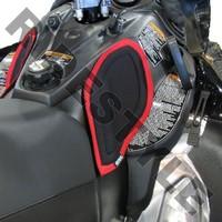 Накладки мягкие на консоль снегохода Yamaha Apex/Attack/RTX/GT/Mtn/ER/LTX/MTX/Vector 2006-2014 Skinz YMKP200-BK