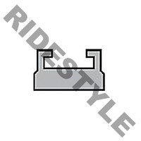 Склиза снегохода, 1240мм, Yamaha Viking 540, VK10, Nytro, Vector, 2005-2020, SMA-8GC92-00-BK, SMA-8FU92-00-BK, 8GL-47421-00-00, 8JE-47421-00-00, 8GC-47421-00-00, 8HG-47421-00-00, 8FT-47421-00-00, 8JD-47421-01-00, SMA-8GL92-00-00