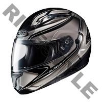 Снегоходный шлем с подогревом HJC CL-MAX II Gray
