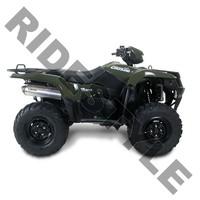 Глушитель квадроцикла, алюминий Suzuki King Quad 750 M-7 V.A.L.E.™ Slip-on System Two Brothers 005-2270406V