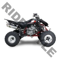 Глушитель квадроцикла, алюминий Suzuki Z400 QuadSport, Kawasaki KFX400, Arctic Cat DVX400 M-7 V.A.L.E.™ Slip-on System Two Brothers 005-1090406