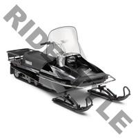 Ветровое стекло снегохода высокое Yamaha BRAVO/BRAVO T 250 80J-77210-10-00  12-9892