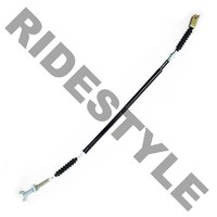 Трос ножного тормоза квадроцикла Kawasaki KVF 360/650/700 A/B/C/D/E Black Vinyl Foot Brake MotionPro 03-0360