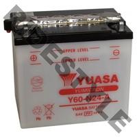 Аккумулятор Yuasa Y60-N24-A