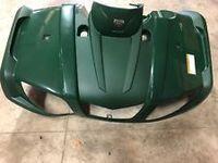 Крыло переднее  красное для Yamaha Grizzly, BRUIN 350 5UH-F1500-00-00, 5UH-F1500-G1-00