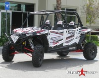Наклейки на двери (комплект) Polaris RZR 1000 XP BlingStar GRFX-2501-RW
