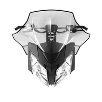Ветровое стекло высокое 41см Ski-Doo Rev-XM, REV-XS Sport Performance Flared High Windshie 860200602