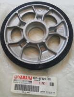Ролик снегохода оригинальный 130x20мм Yamaha VK540 81K-47320-00-00, 87H-47320-00-00, 87M-47320-00-00, 8K2-47320-00-00