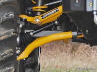 Комплект спортивных рычагов черные для BRP CamAm Outlander 500/650/800 G1 05-12 SuperATV AA-CA-OUT-HC-02