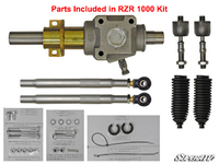 Рулевая рейка для Polaris RZR 1000 2015+, RZR Turbo 1824205 RackBoss SuperATV HDRP-1-33-15-002