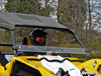 Стекло ветровое для Yamaha YXZ 1000 половинка SuperATV HWS-Y-YXZ