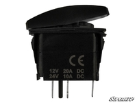 Кнопка включенияи выключения доп. света для ATV/UTV/Снегоходов LED LIGHT BAR SuperATV LTS-002