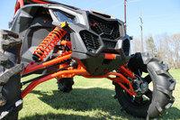 Усиленные изогнутые передние нижние черные рычаги Can-Am Maverick X3 XRS 2017+ HighLifter MCFLA-CMX3-B