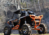 Бампер задний квадроцикла Polaris RZR 1000 SuperAtv RB-P-RZR1K-02
