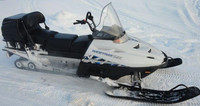 Расширители лыж Ski-Doo для лыж DS 2, Tundra WT 550F 15+, Polaris Widetrak LX,  №7, 1200x270x6