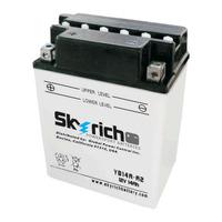 Аккумулятор для квадроцикла,снегохода Skyrich YB14A-A2 (YTX14AH-BS)