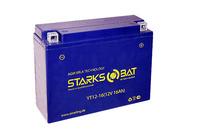 Аккумулятор для квадроцикла/снегохода StarksBat Артикул: YT 12-16 (YB16AL-A2)