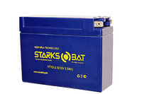 Аккумулятор для квадроцикла/снегохода StarksBat YT 12-2.5 (YTX4B-BS, YTR4B-BS)
