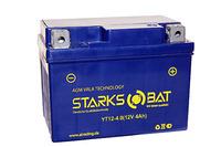 Аккумулятор для квадроцикла/снегохода StarksBat YT 12-4.0 (YB4L-B, YT4L-BS)