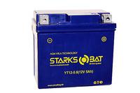 Аккумулятор для квадроцикла/снегохода StarksBat YT 12-5.0 (YTX5L-BS, YTZ7S, YT5L-BS)